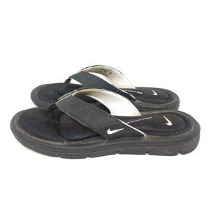 Nike Women's Size 6 Blue Memory Foam Sandals Flip